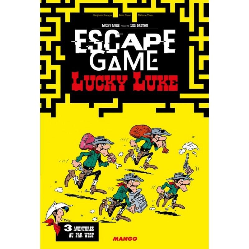 Escape Game Lucky Luke - Livre