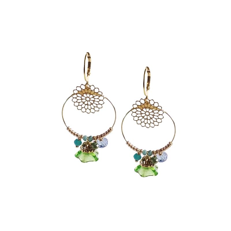 Boucles d'oreilles  Waé bijoux