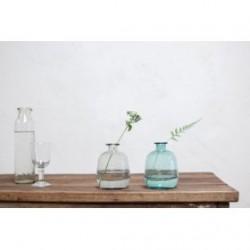 Vase TOSKA verre recyclé Smoke