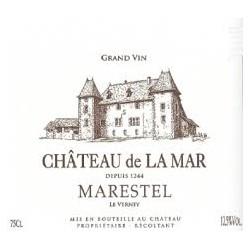 Blanc - Château de la Mar - Le Verney - Roussette de Savoie