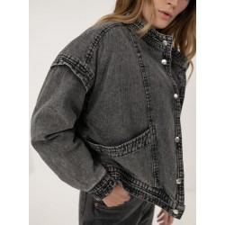 Manteau en jean