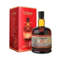 Rhum - El Dorado - 12 ans d'âge - 70 cl