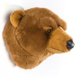 Trophée ours brun