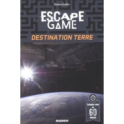Escape Game Destination Terre - Livre